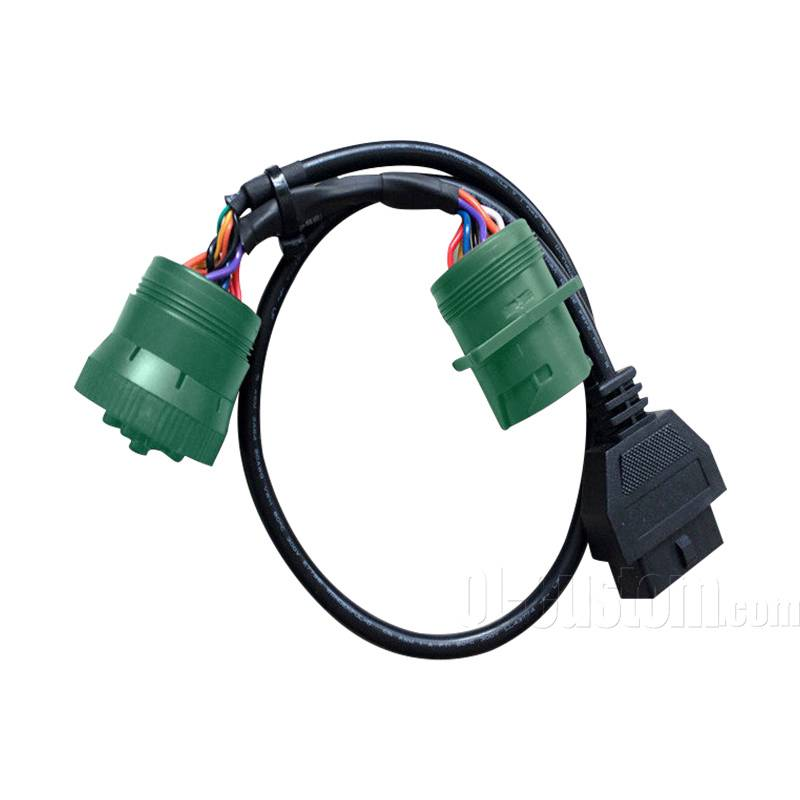 For truck J1939 9pin male to female with OBDII male 16pin