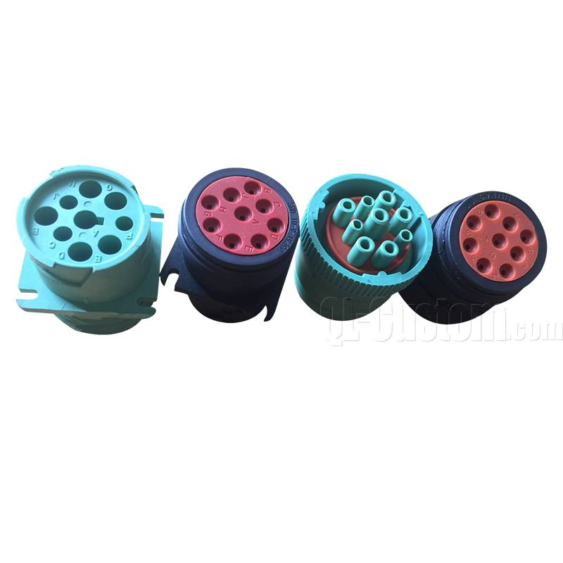 OBD Male to J1939 9pin and J1708 overmolded