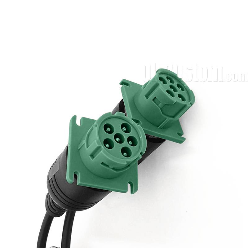 Truck Overmolded J1708 female to female cable