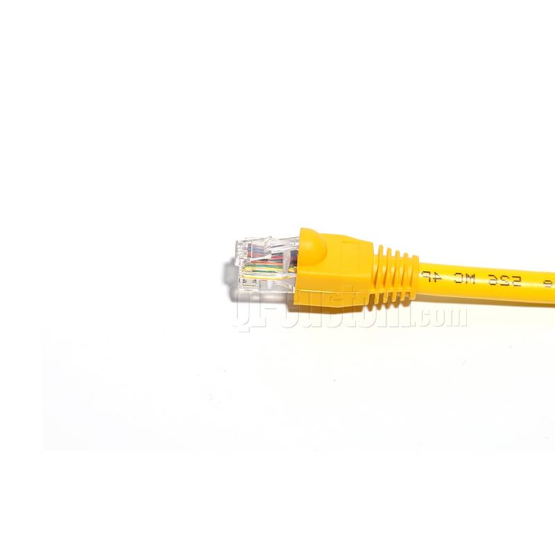Installable OBD2  Cat5E cable to RJ45 with molding