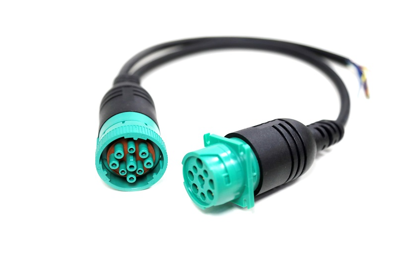 J1939 Male to Female 9pin connector cables
